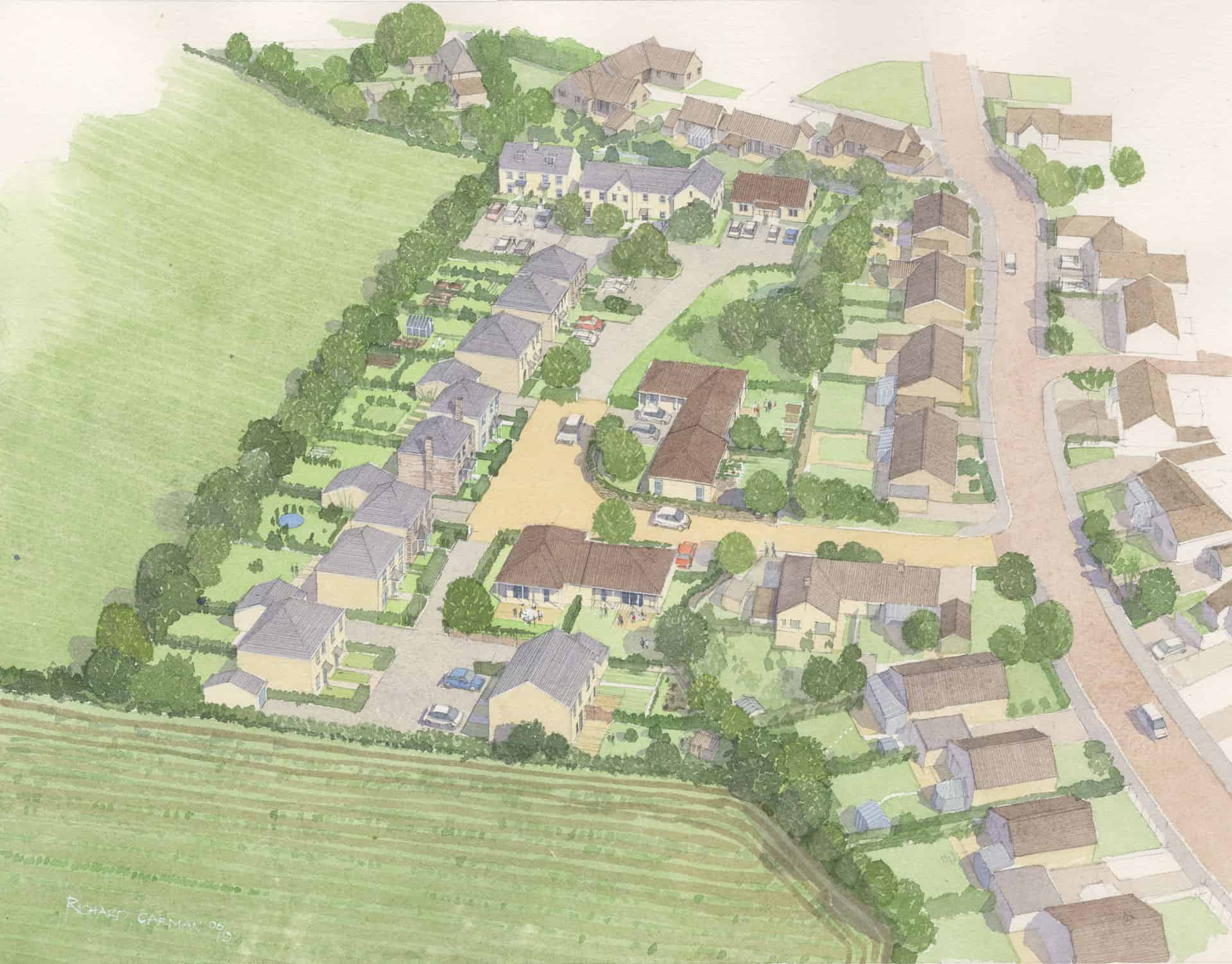 The proposals for the land off Polwithen Drive